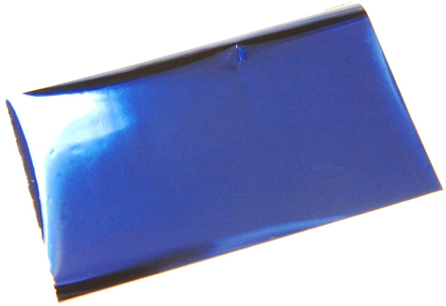 箔押しシール-青-ブルー