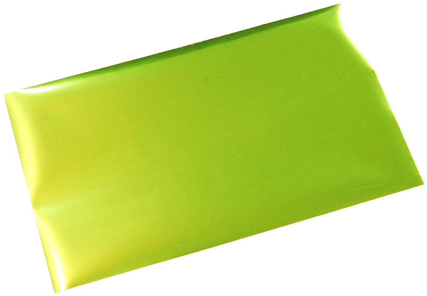 箔押しシール-緑-キウイグリーン