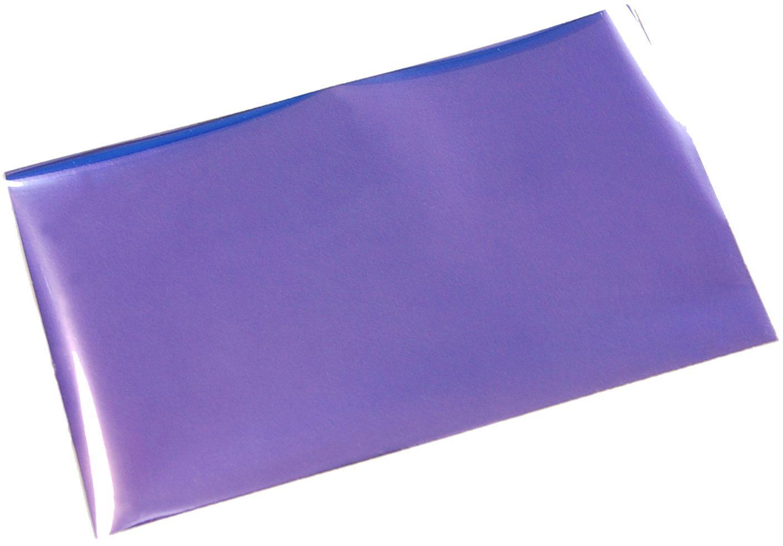 箔押しシール-紫