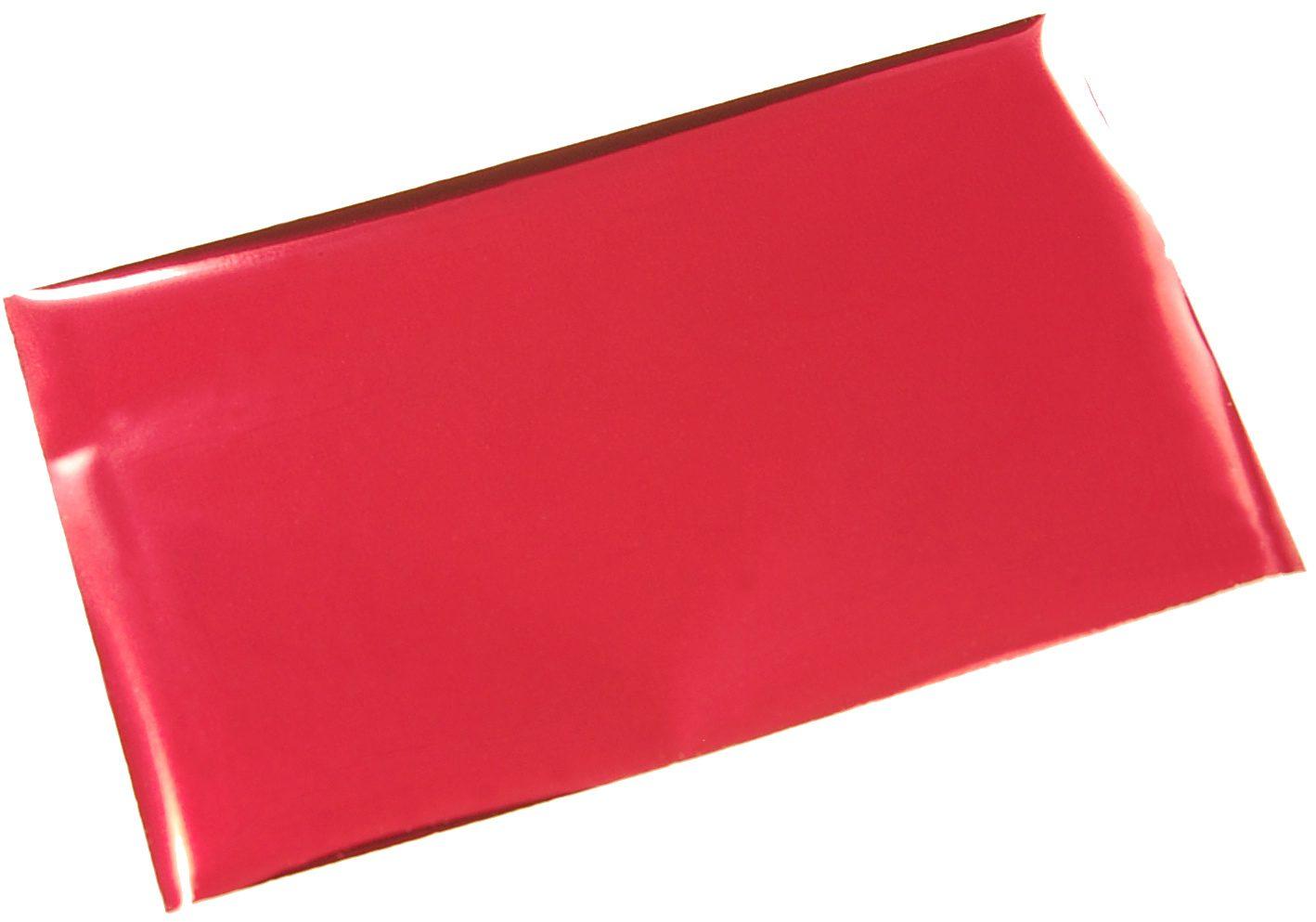 箔押しシール-赤