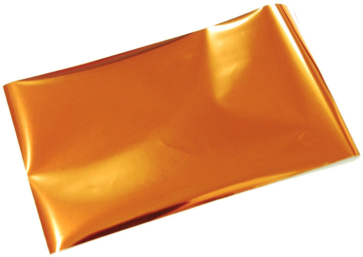 箔押しシール-銀-オレンジ-サンセット