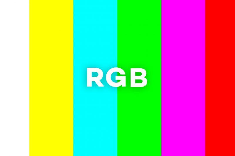 RGBは印刷に使えません