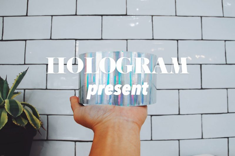 ホログラムシール プレゼント