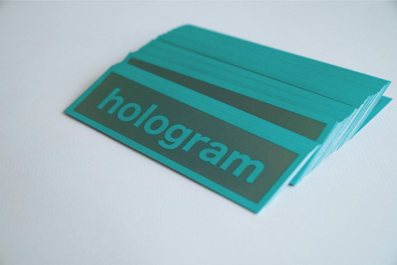 ホログラムステッカー