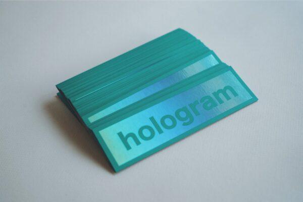 ホログラムシール サンプル