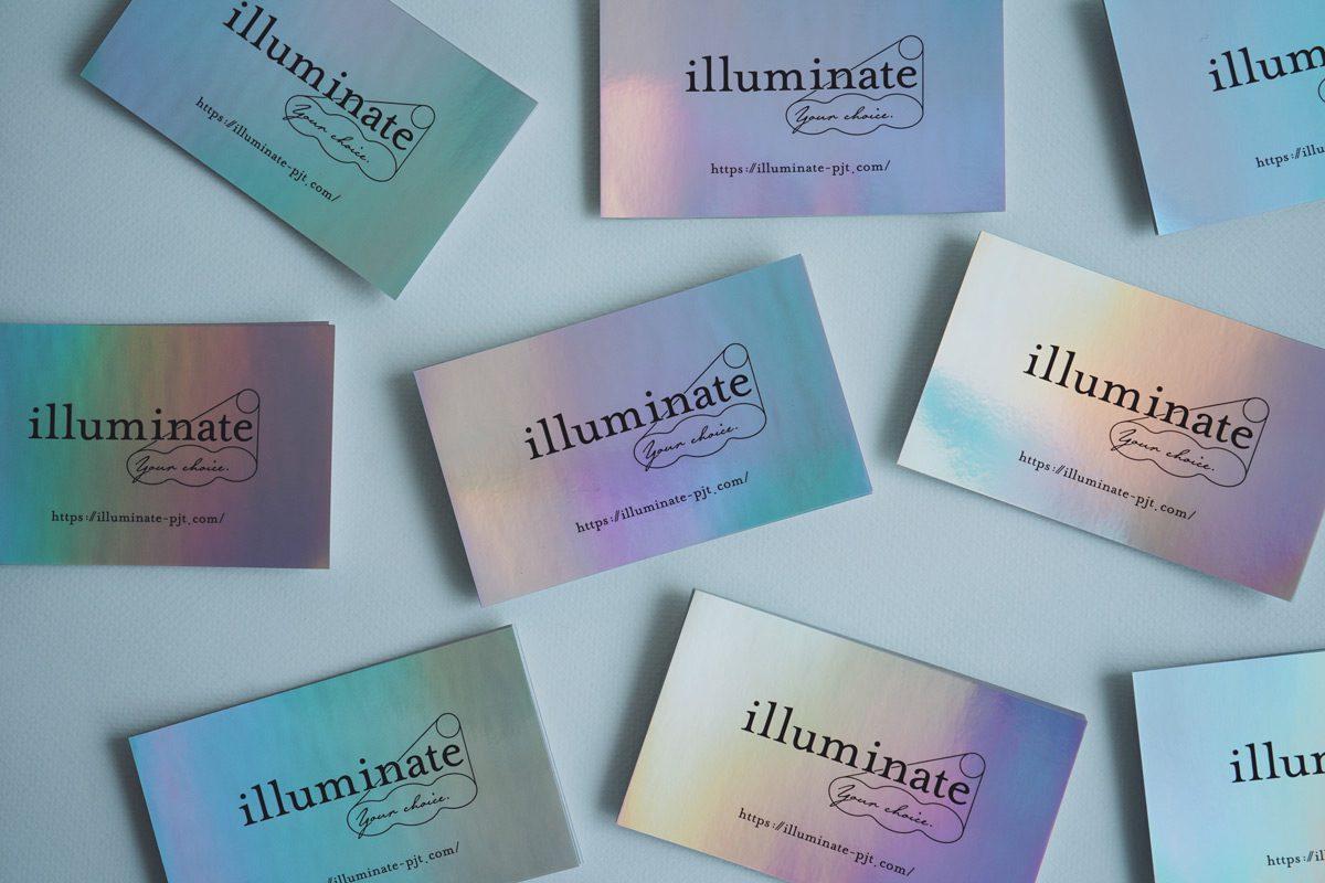 illuminate ホログラムシール