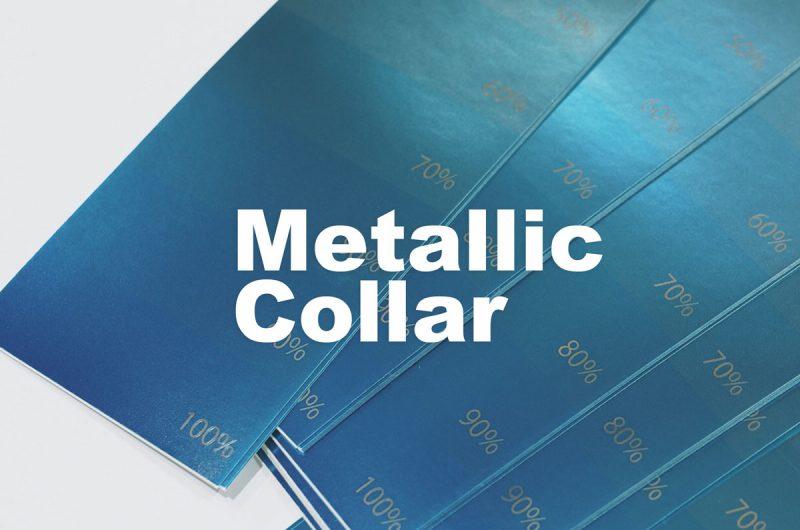 メタリックカラー シール印刷