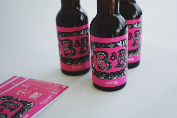 ヨロッコビール B&B ラベル