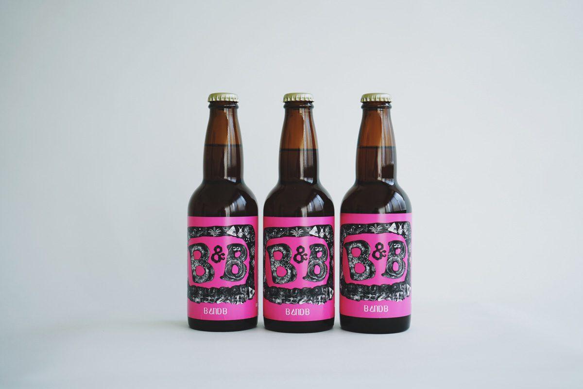 シール印刷事例:合同会社ヨロッコビール様 B&B