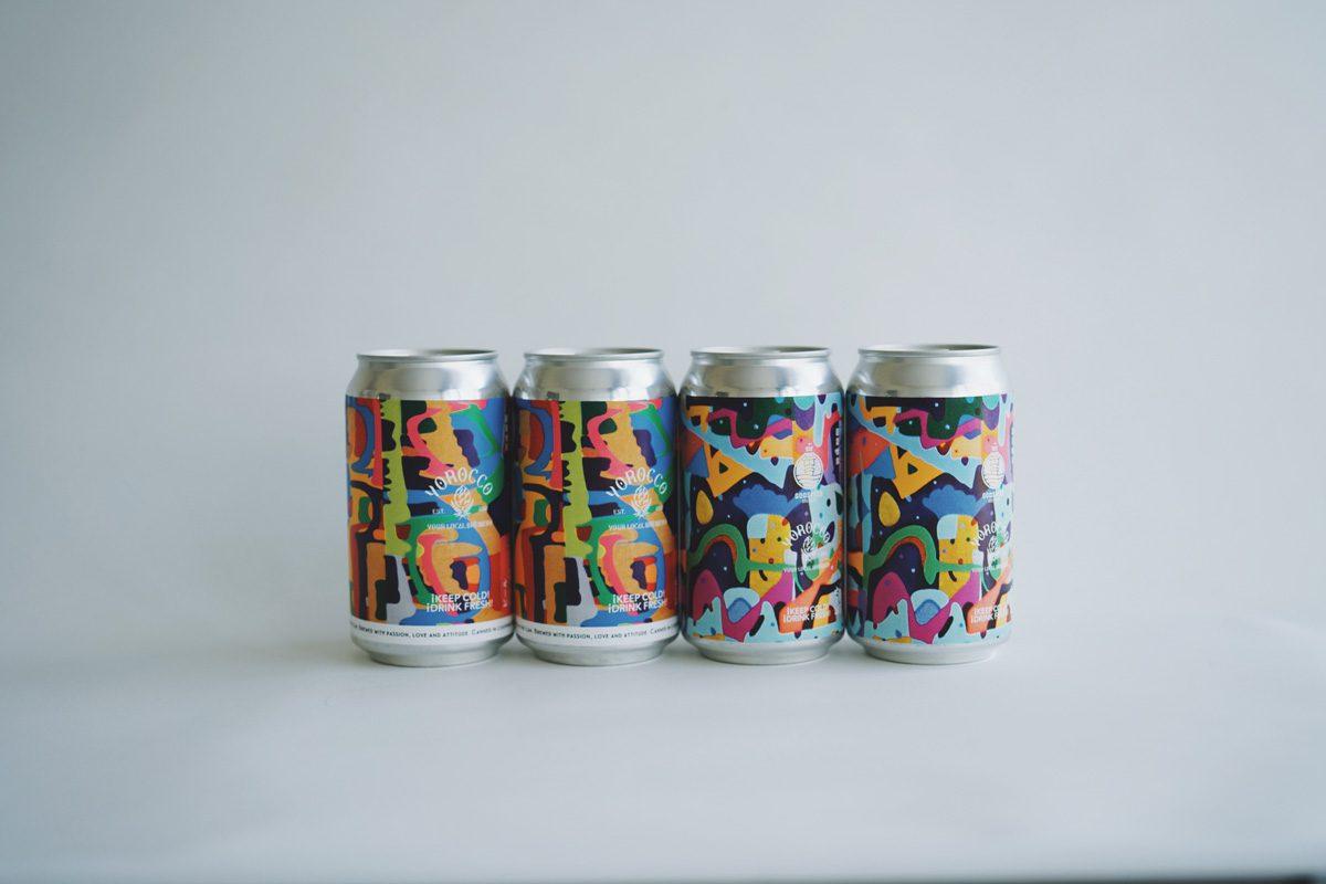 シール印刷事例:合同会社ヨロッコビール様 TIME IS MONEY & AMARILLO SQUASH
