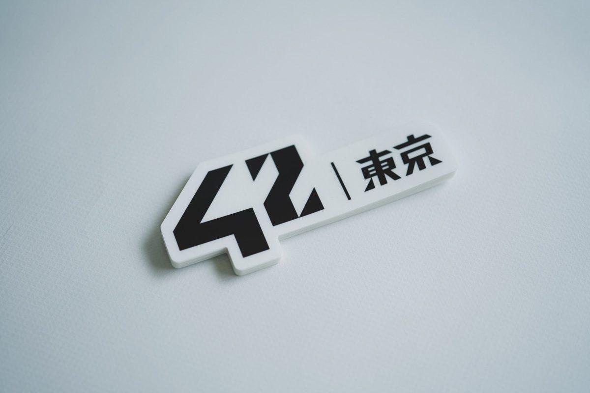 42 Tokyo ノベルティーシール