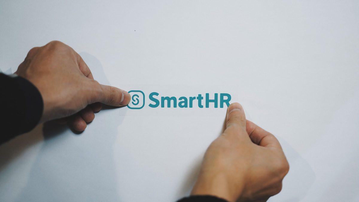 SmartHR カッティングシール
