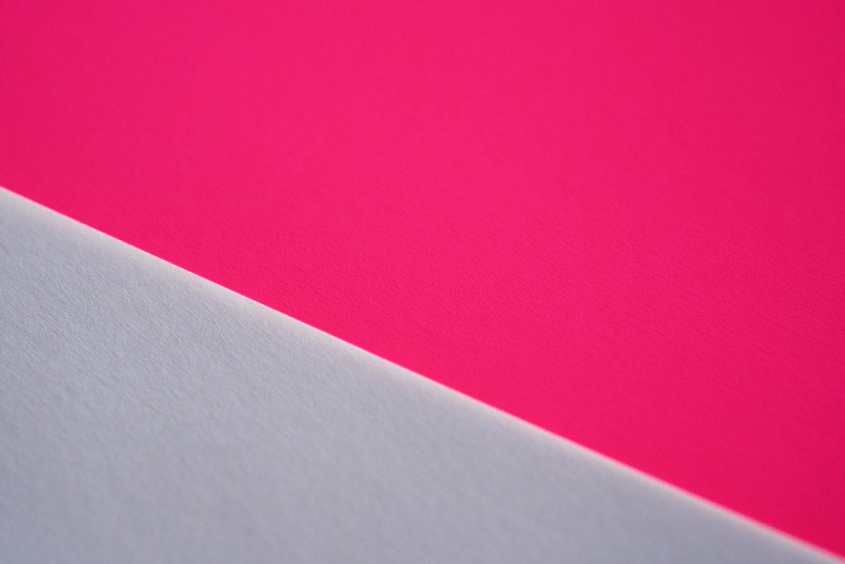 蛍光紙ピンク