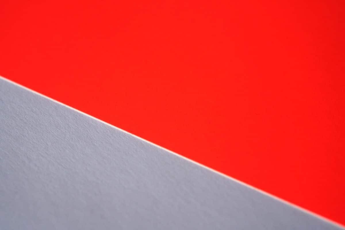 蛍光紙レッド
